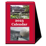Red and White Multi Photo Calendar 2016 - Desktop Calendar 6  x 8.5