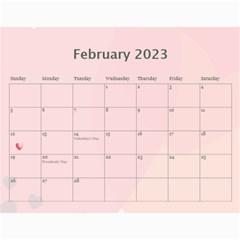 2015 Any Occassion Calendar By Kim Blair   Wall Calendar 11  X 8 5  (12 Months)   Tbt17lomzz0a   Www Artscow Com Feb 2016