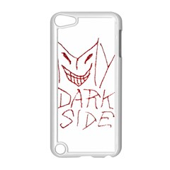 My Dark Side Typographic Design Apple Ipod Touch 5 Case (white) by dflcprints
