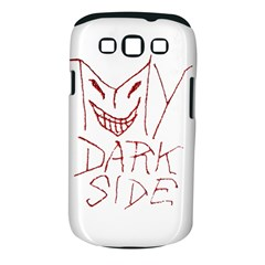 My Dark Side Typographic Design Samsung Galaxy S Iii Classic Hardshell Case (pc+silicone) by dflcprints