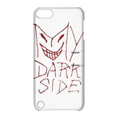 My Dark Side Typographic Design Apple Ipod Touch 5 Hardshell Case With Stand by dflcprints