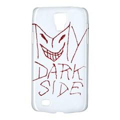 My Dark Side Typographic Design Samsung Galaxy S4 Active (i9295) Hardshell Case by dflcprints