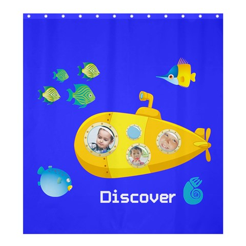 Kids By Kids   Shower Curtain 66  X 72  (large)   Xp1uugo9ahc2   Www Artscow Com 58.75 x64.8 Curtain