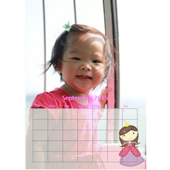 Calenda Small1 By Sylvia   Desktop Calendar 6  X 8 5    8kcj9e2ehoff   Www Artscow Com Sep 2015