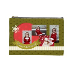 Xmas By Xmas   Cosmetic Bag (large)   9zc65csap9np   Www Artscow Com Front