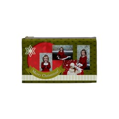 Xmas By Xmas   Cosmetic Bag (small)   6drqtfmt2c8h   Www Artscow Com Front