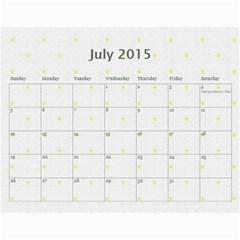 My Calendar 2015 By Carmensita   Wall Calendar 11  X 8 5  (12 Months)   Aehl6mjt8eng   Www Artscow Com Jul 2015