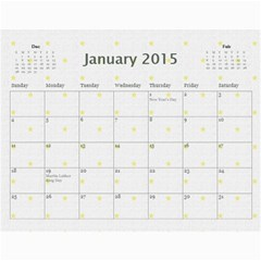 My Calendar 2015 By Carmensita   Wall Calendar 11  X 8 5  (12 Months)   Aehl6mjt8eng   Www Artscow Com Jan 2015