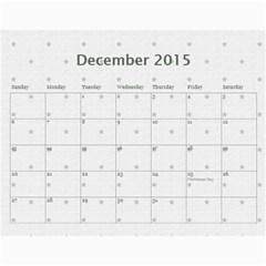 My Calendar 2015 By Carmensita   Wall Calendar 11  X 8 5  (12 Months)   Aehl6mjt8eng   Www Artscow Com Dec 2015