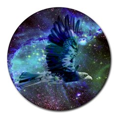 Catch A Falling Star 8  Mouse Pad (round) by icarusismartdesigns