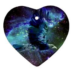 Catch A Falling Star Heart Ornament
