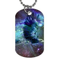 Catch A Falling Star Dog Tag (two Sided)  by icarusismartdesigns