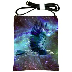 Catch A Falling Star Shoulder Sling Bag by icarusismartdesigns