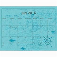 Calendar 2015 By Carmensita   Wall Calendar 11  X 8 5  (12 Months)   X3pwiqdpf5h2   Www Artscow Com Jul 2016