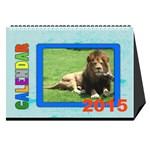 My calendar 2015 - Desktop Calendar 8.5  x 6