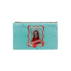 Xmas By Xmas   Cosmetic Bag (small)   Rdl65tudd636   Www Artscow Com Front
