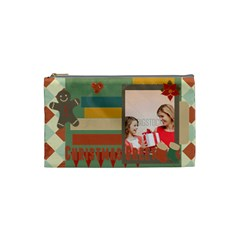 Xmas By Xmas   Cosmetic Bag (small)   22s5fxojf0e0   Www Artscow Com Front