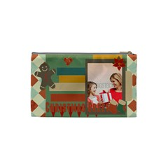 Xmas By Xmas   Cosmetic Bag (small)   22s5fxojf0e0   Www Artscow Com Back