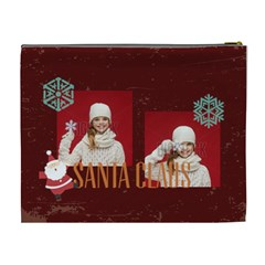 Xmas By Xmas   Cosmetic Bag (xl)   Pam1unf9y8ce   Www Artscow Com Back