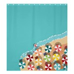 summer - Shower Curtain 66  x 72  (Large)
