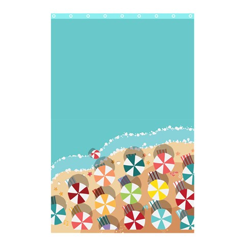 Summer By X   Shower Curtain 48  X 72  (small)   13m78356ntxp   Www Artscow Com 48 x72 Curtain