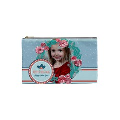 Xmas By Xmas   Cosmetic Bag (small)   404yhd9o25kq   Www Artscow Com Front