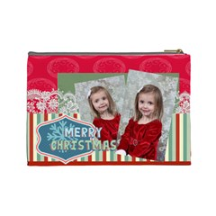 Xmas By Xmas   Cosmetic Bag (large)   7a8ee01raz84   Www Artscow Com Back