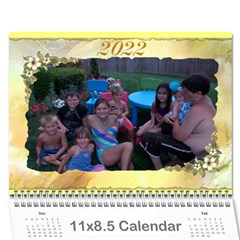 All Occassion Calendar 2015 By Kim Blair   Wall Calendar 11  X 8 5  (12 Months)   1eqmcway8rzo   Www Artscow Com Cover
