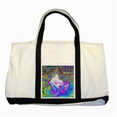 Splash1 Two Toned Tote Bag by icarusismartdesigns