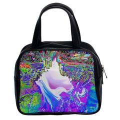 Splash1 Classic Handbag (two Sides) by icarusismartdesigns