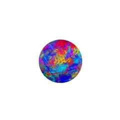 Colour Chaos  1  Mini Button by icarusismartdesigns
