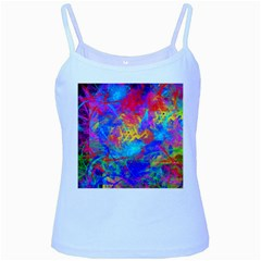 Colour Chaos  Baby Blue Spaghetti Tank by icarusismartdesigns