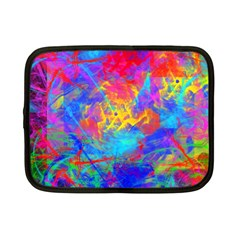 Colour Chaos  Netbook Sleeve (small) by icarusismartdesigns