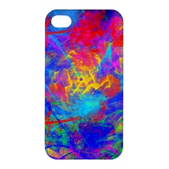 Colour Chaos  Apple Iphone 4/4s Premium Hardshell Case by icarusismartdesigns
