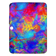 Colour Chaos  Samsung Galaxy Tab 3 (10 1 ) P5200 Hardshell Case  by icarusismartdesigns