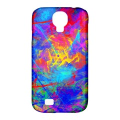 Colour Chaos  Samsung Galaxy S4 Classic Hardshell Case (pc+silicone) by icarusismartdesigns