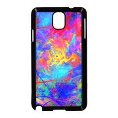Colour Chaos  Samsung Galaxy Note 3 Neo Hardshell Case (black) by icarusismartdesigns