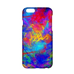 Colour Chaos  Apple Iphone 6 Hardshell Case by icarusismartdesigns