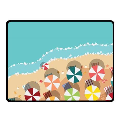 Summer By X   Fleece Blanket (small)   Pzm4w6y8ljim   Www Artscow Com 50 x40 Blanket Front