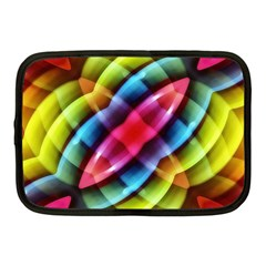 Multicolored Abstract Pattern Print Netbook Sleeve (medium) by dflcprints