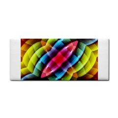 Multicolored Abstract Pattern Print Hand Towel by dflcprints