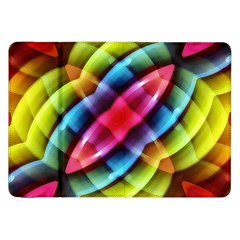 Multicolored Abstract Pattern Print Samsung Galaxy Tab 8 9  P7300 Flip Case by dflcprints