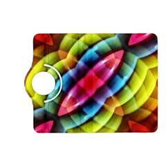 Multicolored Abstract Pattern Print Kindle Fire Hd (2013) Flip 360 Case by dflcprints