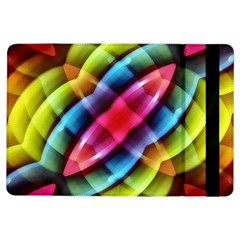 Multicolored Abstract Pattern Print Apple Ipad Air Flip Case by dflcprints