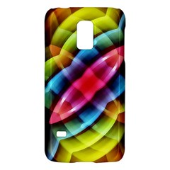 Multicolored Abstract Pattern Print Samsung Galaxy S5 Mini Hardshell Case  by dflcprints