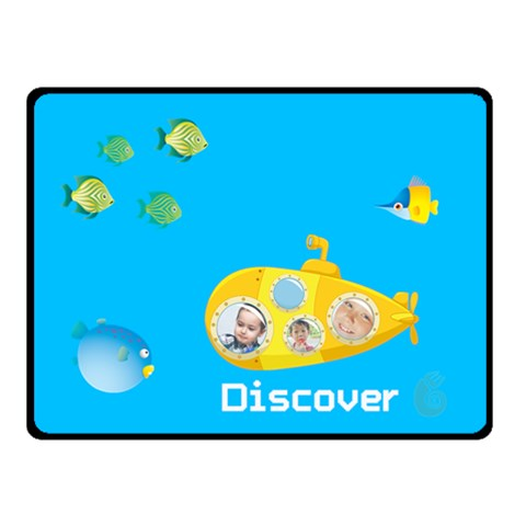 Kids Summer By Kids   Fleece Blanket (small)   Al8z073preqp   Www Artscow Com 50 x40 Blanket Front