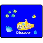 summer kids - Fleece Blanket (Medium)