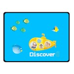 summer kids - Double Sided Fleece Blanket (Small)