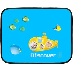 Summer Kids By Kids   Double Sided Fleece Blanket (mini)   Vg92fzaqq979   Www Artscow Com 35 x27 Blanket Front
