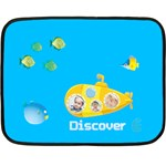 summer kids - Fleece Blanket (Mini)